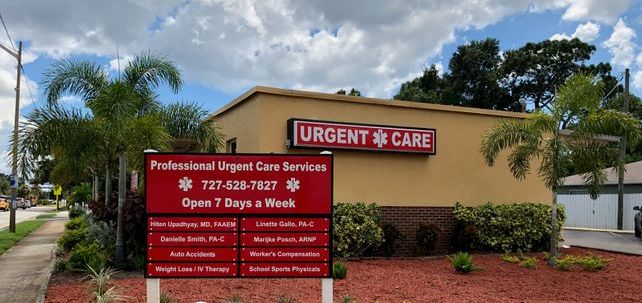 Contact Professional Urgent Care Services